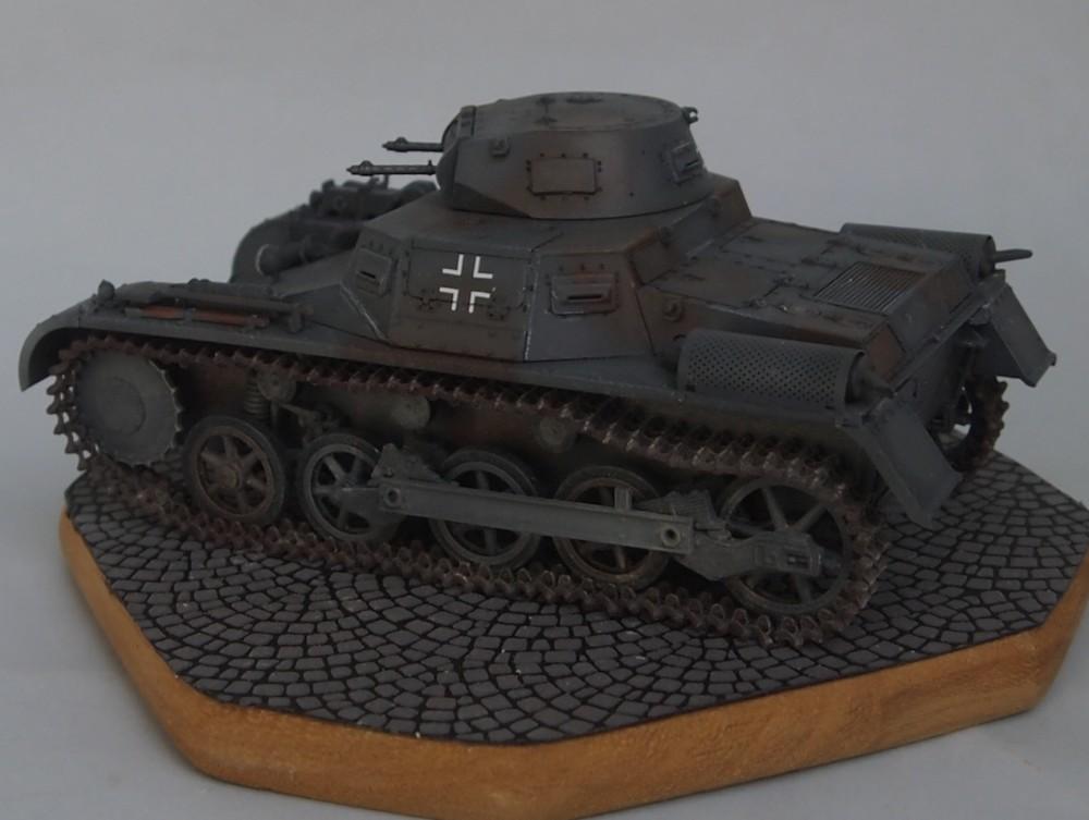 Pz.Kpfw. I Ausf. A 4.Serie/La.S (Dragon 1/35 ref 6451) Mon02