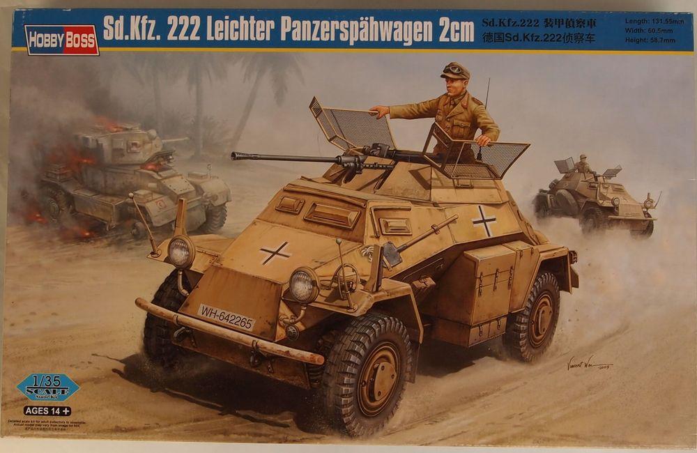 Sd.Kfz. 222 N°2 Armoured Car Company RAF Regiemnt [Hobby Boss 1/35] Prev01